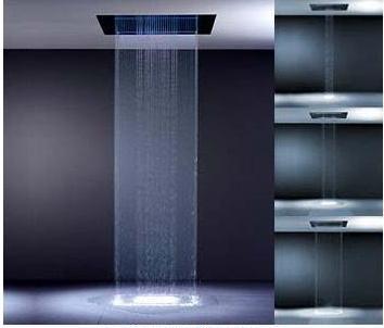 Duchas modernas empotradas al techo for Modelos de duchas modernas