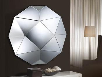 Espejos modernos con formas geométricas3