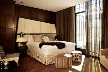 Interiorismo del QT Hotel habitacion