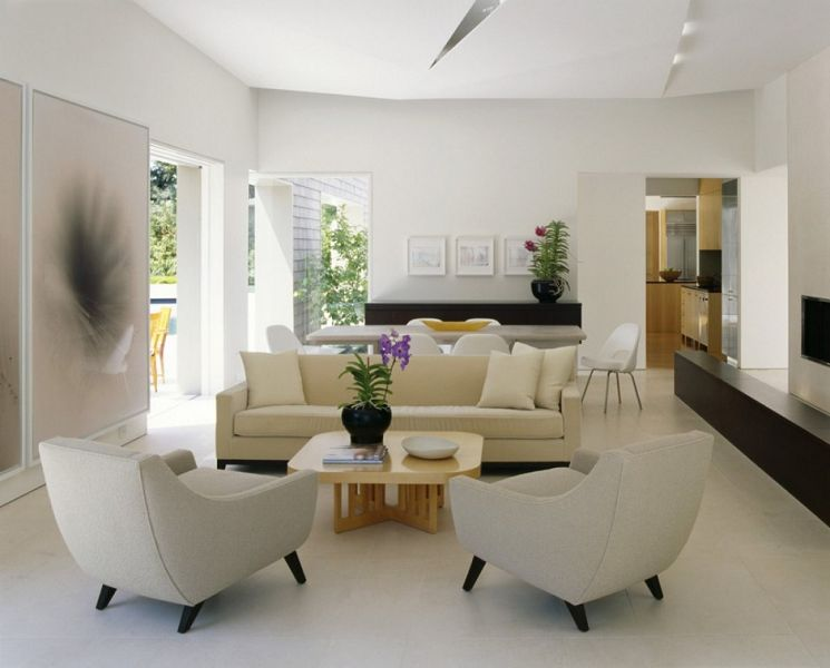 Marin county residence dise o de interiores moderno - Marks and spencer living room ideas ...