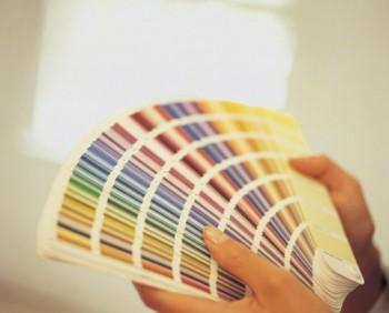 La elección de los colores para pintar la vivienda.