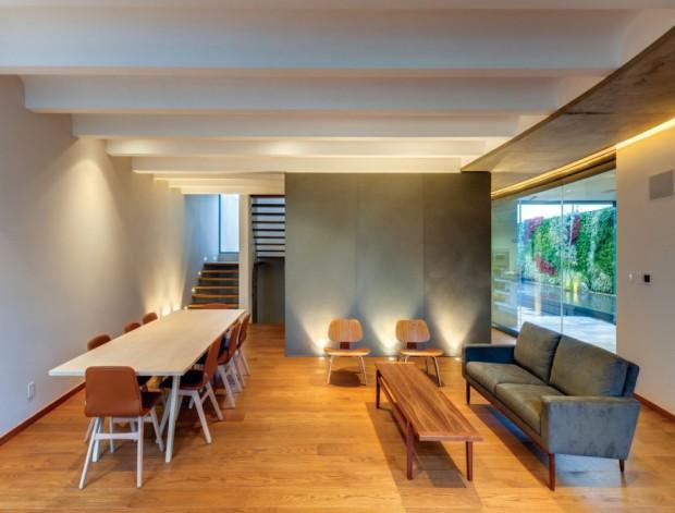 Minimalismo contemporáneo interiores