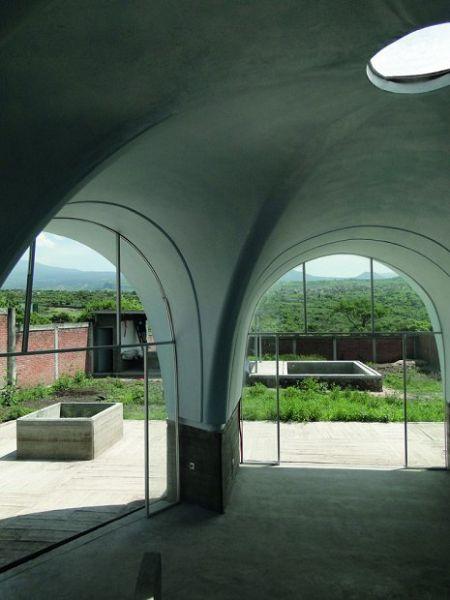 Moderna Casa mexicana interior