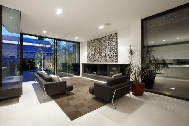 Modernas Casas interiores