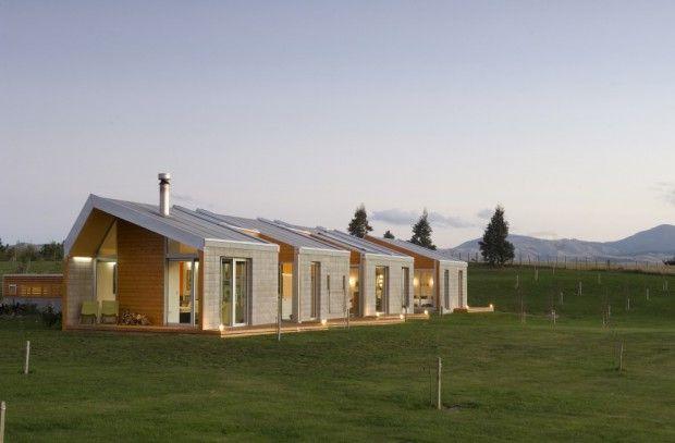 Modernas viviendas campestres