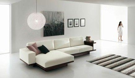 Muebles blancos en decoraciones minimalistas for Decoracion de recamaras modernas y minimalistas