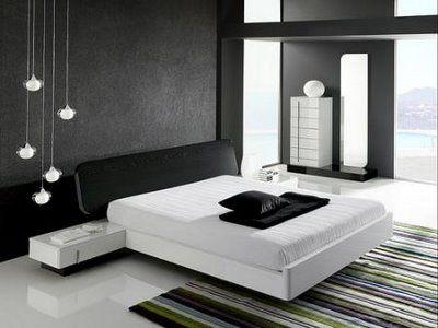 Muebles blancos en decoraciones minimalistas 3