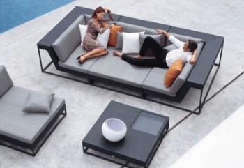 Muebles modernos para jardín