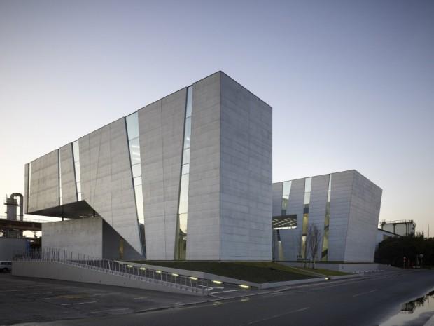 Nuevo edificio japonés