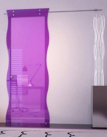 Puertas modernas de cristal