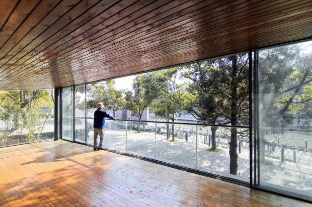 Riverside Park Pavilion Riverside Park Pavilion interior