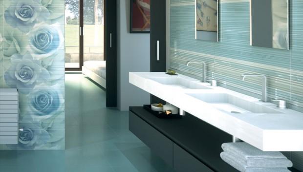 Trucos para elegir los azulejos ideales para el baño.