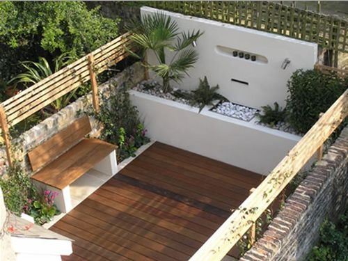 Ideas para decorar yo misma mi casa for Decoracion de patios pequenos exteriores