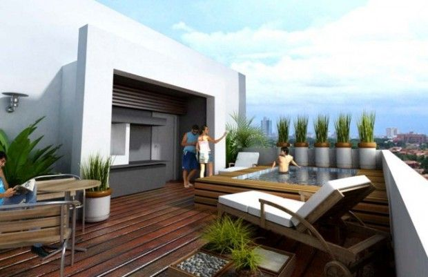 5 Ideas para decorar terraza moderna 2