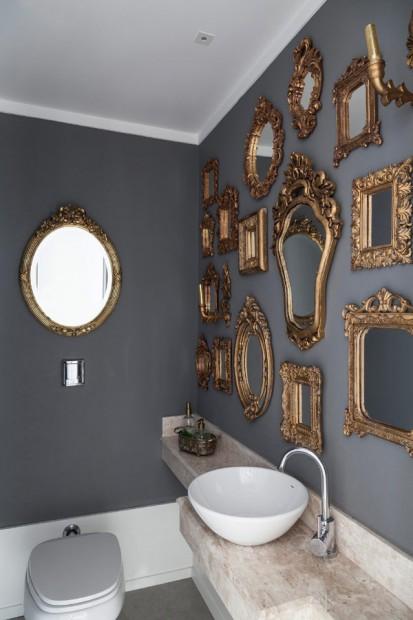Apartamento ecléctico baño