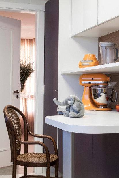 Apartamento ecléctico cocina