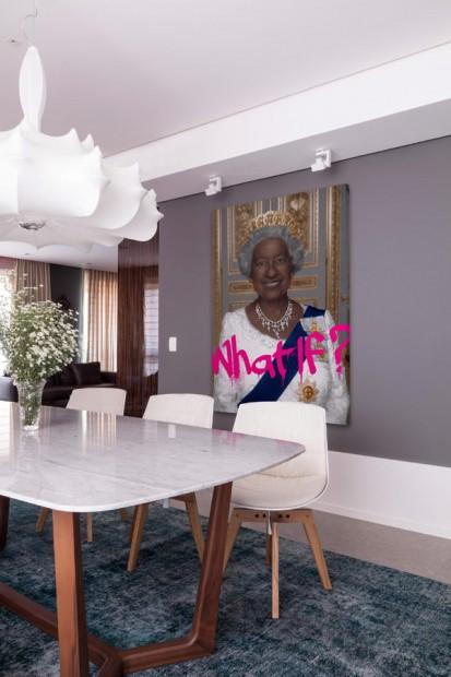 Apartamento ecléctico comedor
