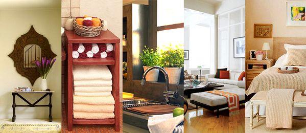 Aumentando el estilo Feng Shui en el hogar.