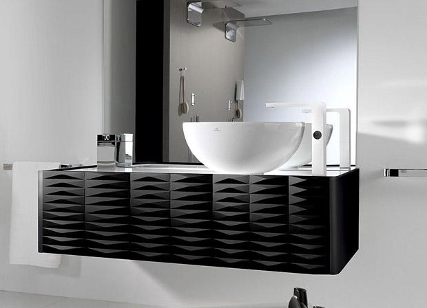 Aumentando la elegancia en el baño.