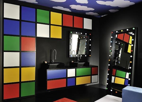 Baños multicolores1