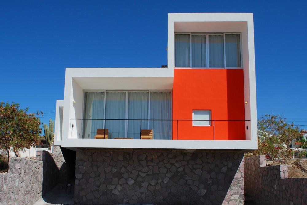 Casa mar de cort s moderna casa de playa for Casa moderna wallpaper
