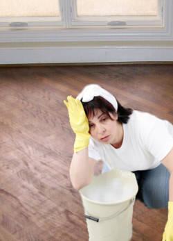 Como evitar la producción de rayas en el piso