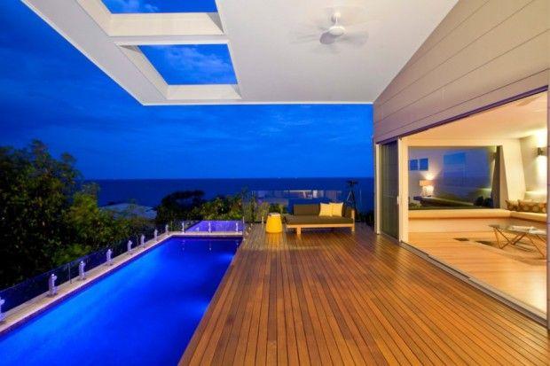 Coolum Bays Beach House voladizo