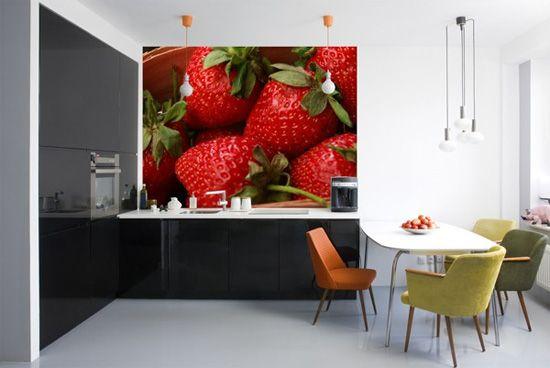 Decoracion de cocinas inspiradas en fresas 3