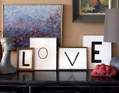 Decoracion moderna love 2