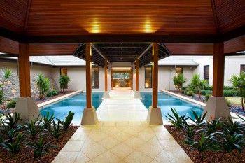Decorar jardin de entrada estilo Zen