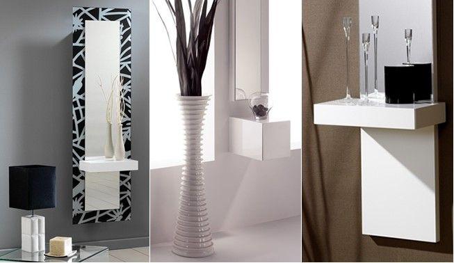 Decorar recibidor al estilo moderno - Como decorar un recibidor moderno ...