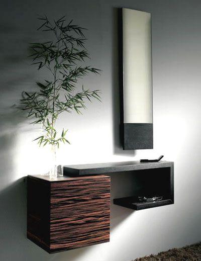 Decorar recibidor al estilo moderno - Tiempos modernos muebles ...