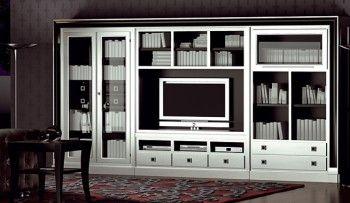 Decorar sala de estar en negro y plateado1