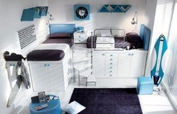 Dormitorios estilo loft para adolescentes 1