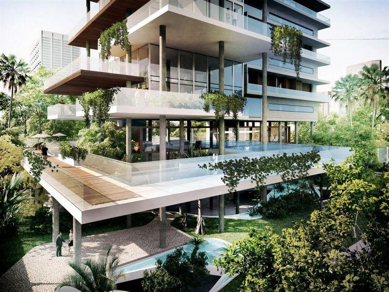 Edificio itaim futuros edificios for Modelos de departamentos modernos