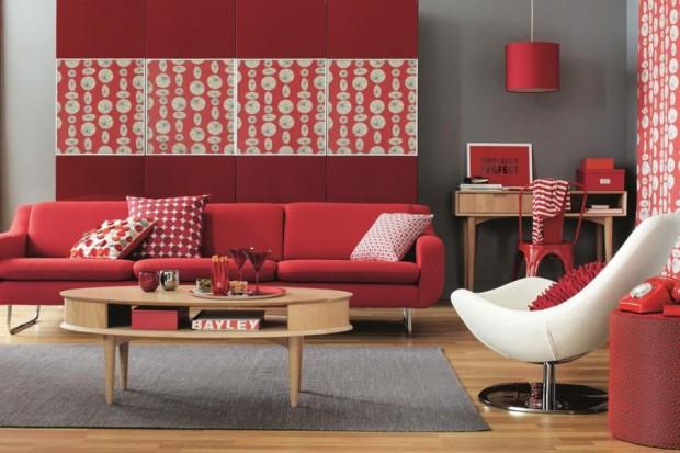 El color en la decoración del hogar.