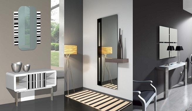 Estampados rayados blanco y negro en la decoración moderna  2