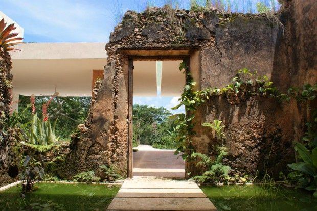 Hacienda Bacoc exteriores
