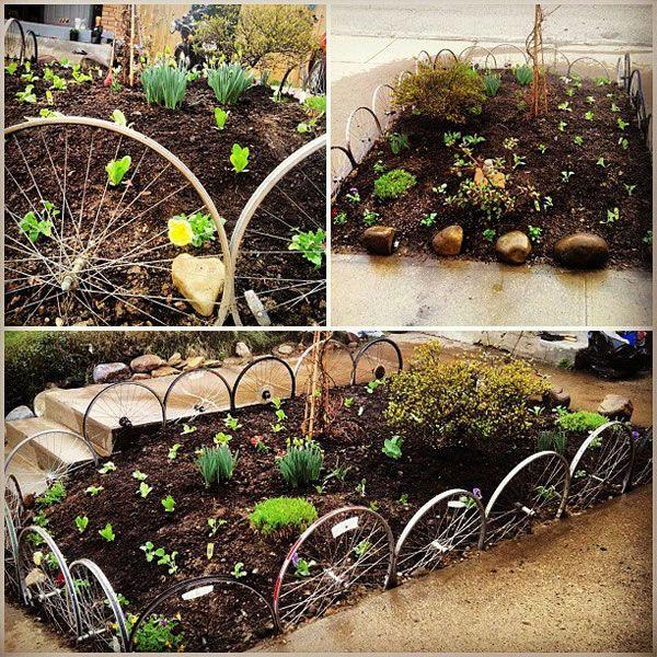 Ideas para decorar un jard n rustico for Decoracion macetas jardin