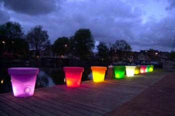 Iluminación LED para exteriores modernos 2
