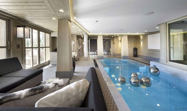 Lujosos Chalets piscina