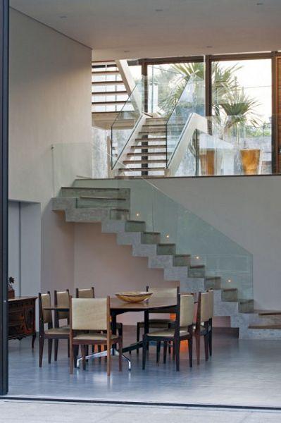 Moderna Casa Brasilera interiores