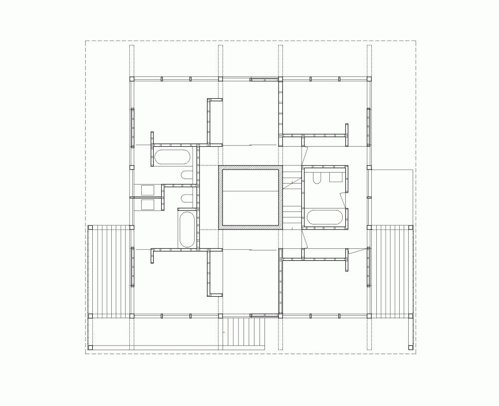 Casa en Les Diablerets: Moderna casa de madera