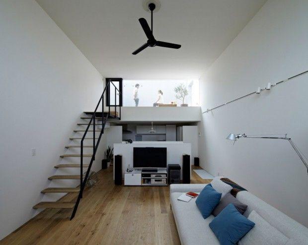 Moderna vivienda japonesa interiores