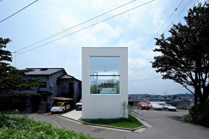 Vivienda en Hiyoshi: Moderna casa japonesa
