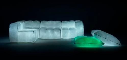 Muebles modernos con luces LED 4