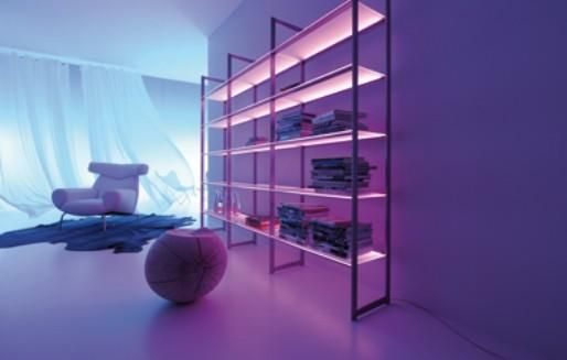 Muebles modernos con luces LED 5