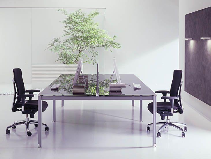 Oficinas modernas blancas for Elementos para decorar una oficina