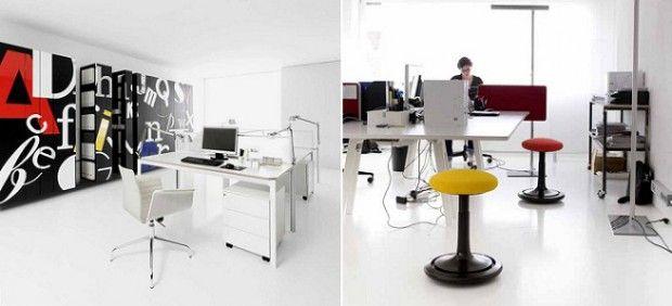 Oficina moderna blanca 3