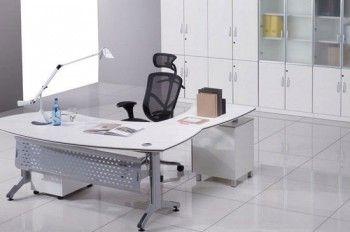 Oficina moderna blanca